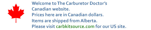 Canada's carburetor parts source