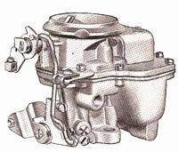 CK522 Carter AS carburetor rebuild kit for 1959-1961 Edsel