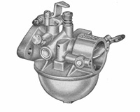 CK575 carburetor kit for Carter Model N / Kohler