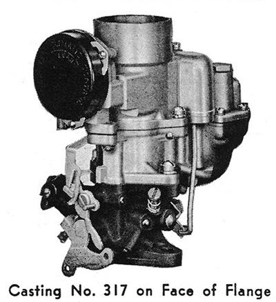 CK498 Carter WA-1 Carburetor Rebuild Kit