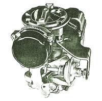 CK45 Carburetor Kit for Carter YF