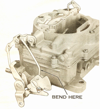CK16 carburetor kit for Carter AFB
